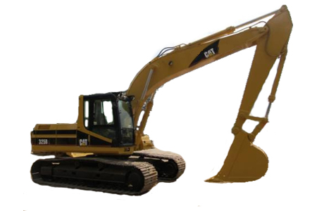 excavadora 325b