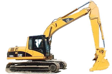 excavadora 320c